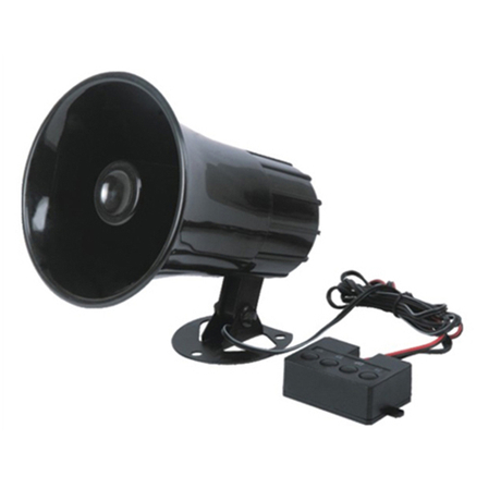 4 Sound Loud Horn Car Warning Alarm Police Fire Siren