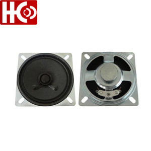 2.5 inch 66mm 8ohm 2w speaker driver unit