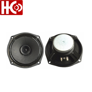 6 inch auto speaker driver 8 ohm 60 watt car audio speaker unit